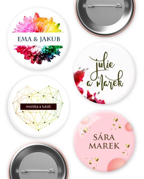 Svatební odznaky